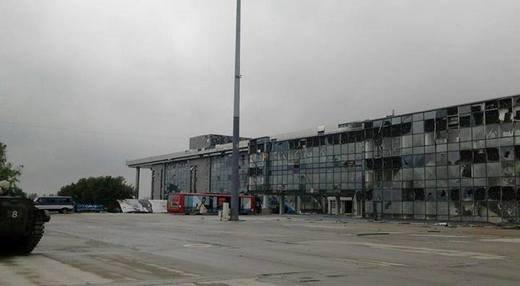 Донецкий аэропорт охраняют