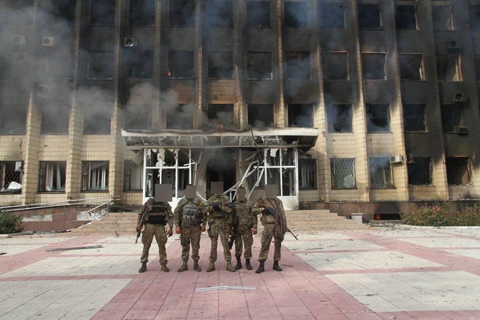 украина гдзержинск война 2018г сентябрь