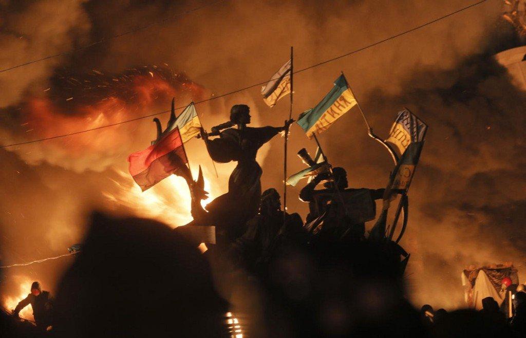 """Attēlu rezultāti vaicājumam """"годовщина майдана"""""""