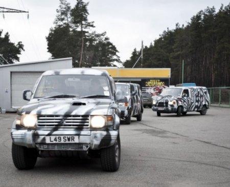 Бойцам АТО отправили внедорожник подаренный Кузьмой