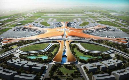 В Китае появится аэропорт с самым большим в мире терминалом