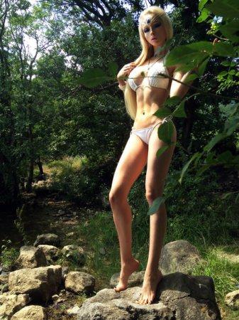 """Одесская """"Барби"""" показала фигуру в откровенном купальнике. ФОТО"""