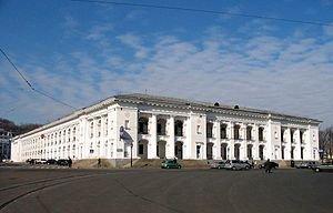 Гостиный двор Киева с высоты птичьего полета. ВИДЕО