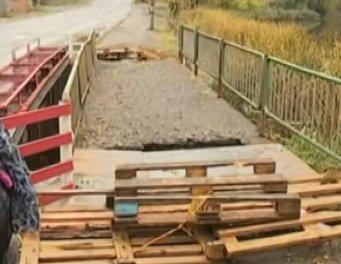 У Немирові жителі скаржаться на аварійний міст (ТВ, відео)