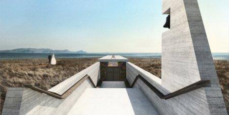 В Греции построят уникальную часовню в форме креста. ФОТО