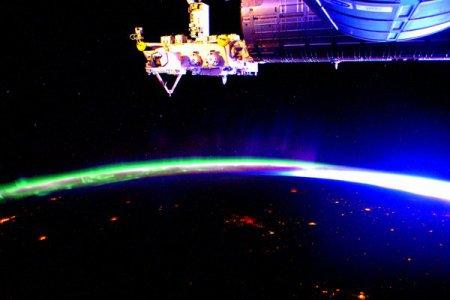 Астронавт NASA опубликовал яркое фото северного сияния с космоса