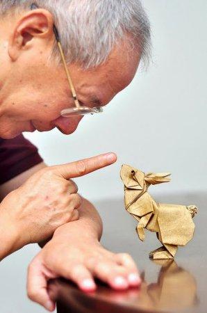 Потрясающие оригами разных мастеров. ФОТО