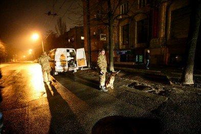 Ночью в центре Запорожья прогремел взрыв. ФОТО