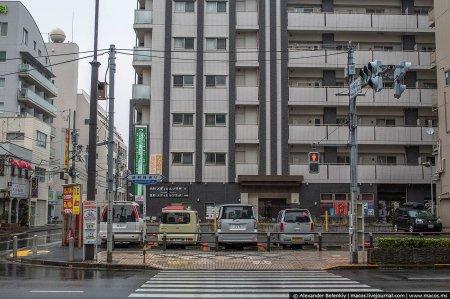Культура автопарковки в Японии. ФОТО