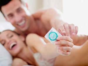 Секс с презервом с людьми