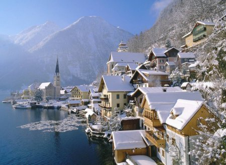 Места, где зима действительно прекрасна. ФОТО