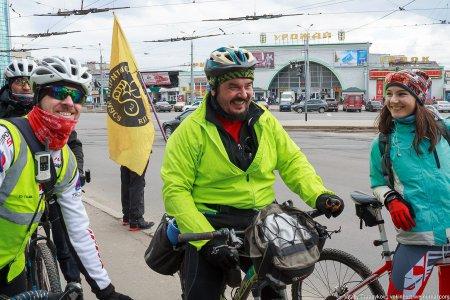 """В Виннице состоялся велопробег """"Большая весенняя выкатка"""". ФОТО"""