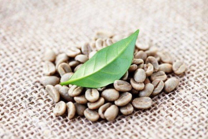 Свойство натурального зеленого кофе