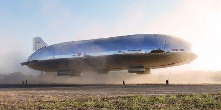 Украинский изобретатель сделал революционный дирижабль для Пентагона