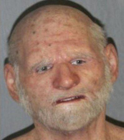 Маска старика помогала американскому наркоторговцу скрываться от полиции. Фотофакт