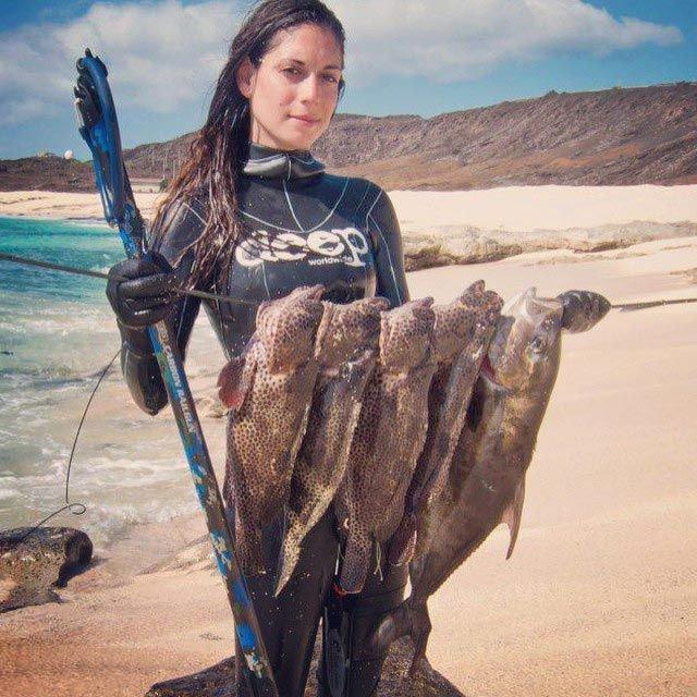 рыбак в инстаграм выкладывает улов
