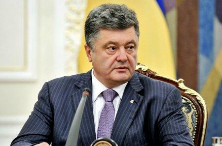 По словам Порошенко в 2016, 2017 и 2018 года должны восстановить дороги