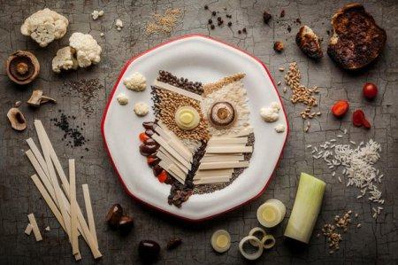 Кулинарные шедевры: картины из еды. ФОТО