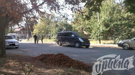 В Херсоне автомобиль врезался в дом