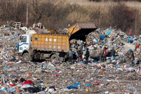 Время идет, а Львов продолжает утопать в мусоре