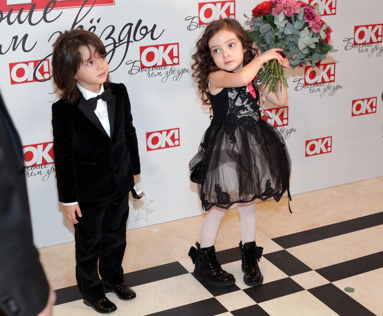 Новогодние фото детей киркорова