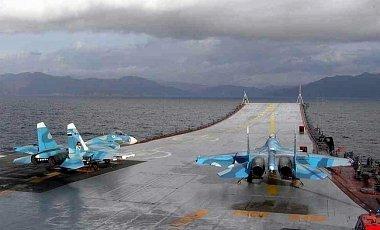Истребитель Су-33 утопили на российском авианосце