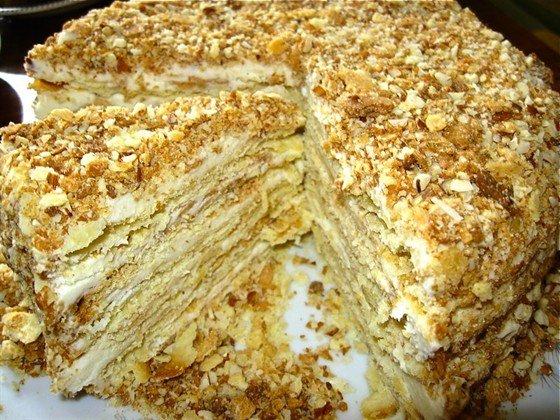 Сколько стоит торт наполеон