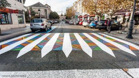 Болгарський художник перетворює пішохідні переходи в Мадриді на справжні витвори урбаністичного мистецтва.  ФОТО