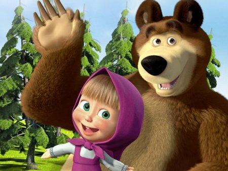 """Израильские психологи увидели в мультфильме """"Маша и Медведь"""" угрозу для общества"""