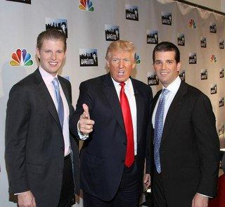 Трамп передает свой бизнес старшим сыновьям