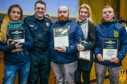 """Медицинской службе """"Национального корпуса"""" в Днепре выразили благодарность полицейские города"""