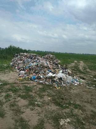 На Киевщине обнаружили свалку со львовским мусором